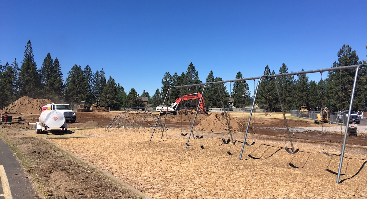Replace Field at Elk Meadow