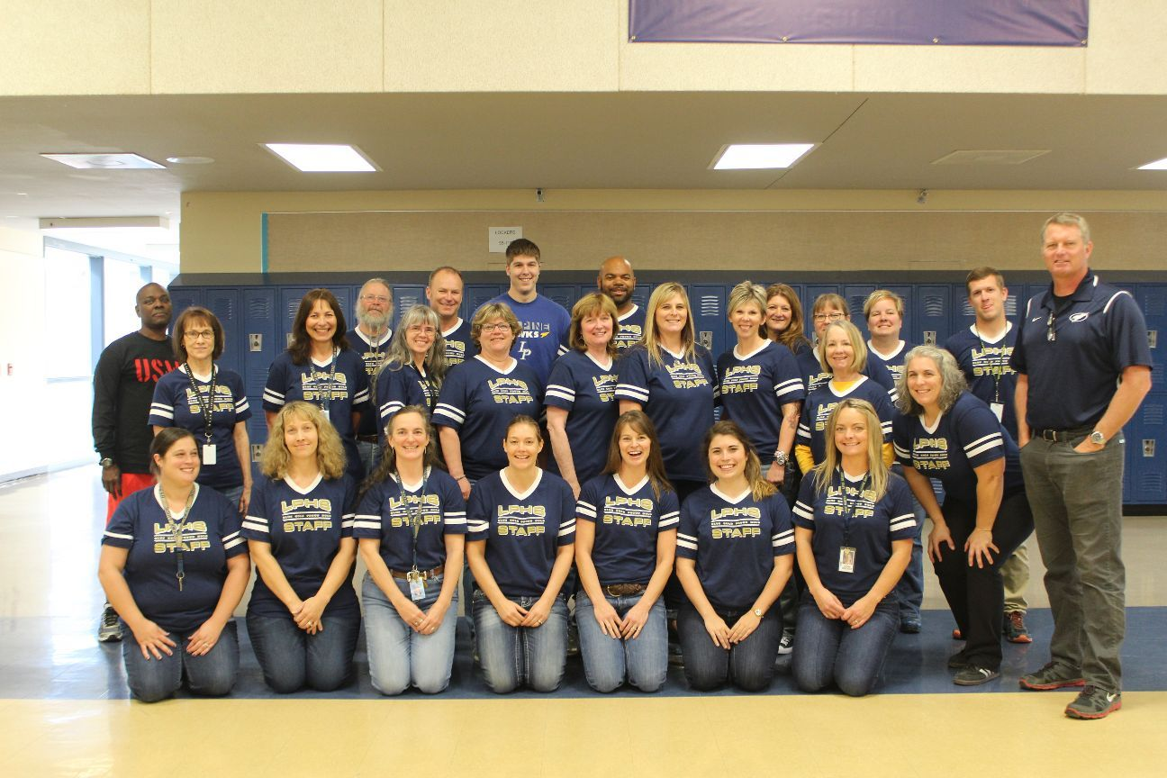 La Pine High Staff Photo