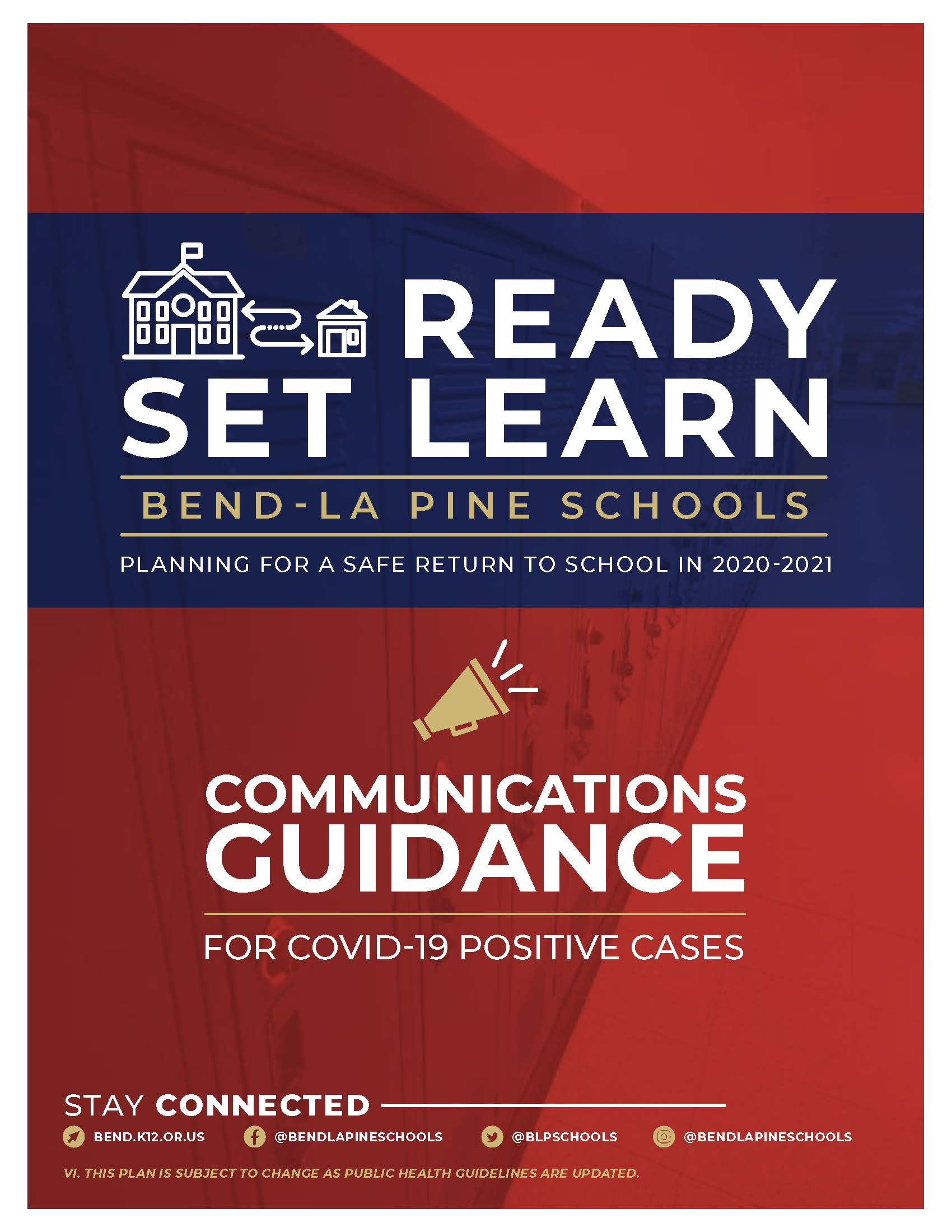 Ready Set Learn Communications Guidance