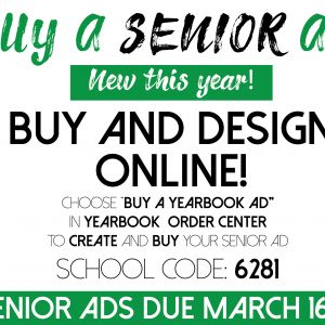 Summit High School Senior Ads due March 16th Design and Purchase Online