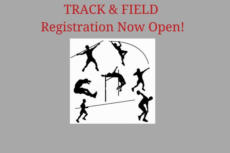 Track Registration is Open