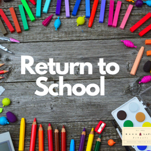 Return to School Update