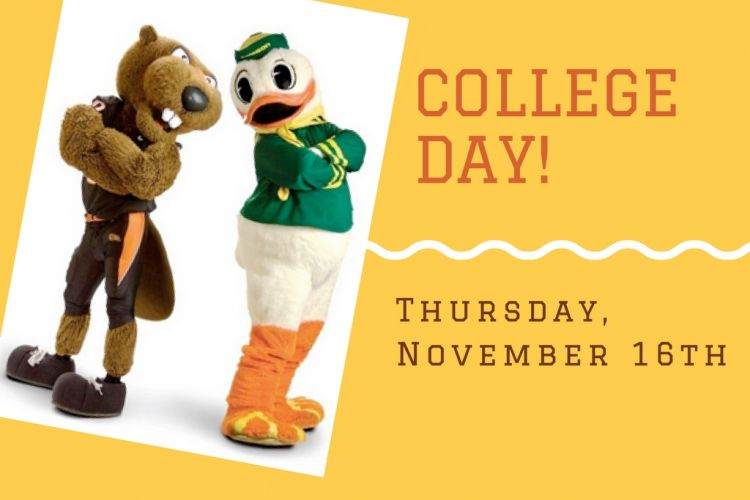 Wear Your College Gear!