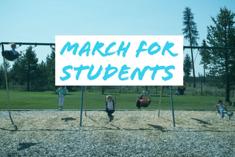 Join Us: March for Students May 8