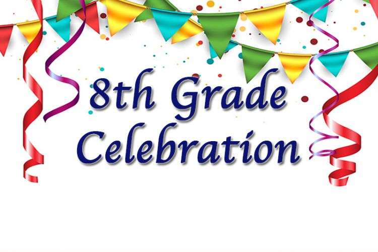 Image result for 8TH GRADE CELEBRATION CLIPART