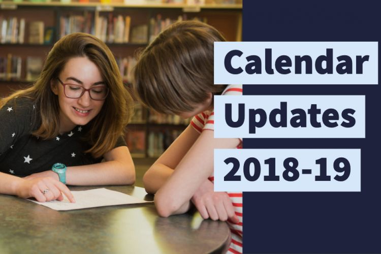 School Calendar Changes Set