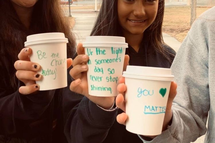 Students Give to Those in Need